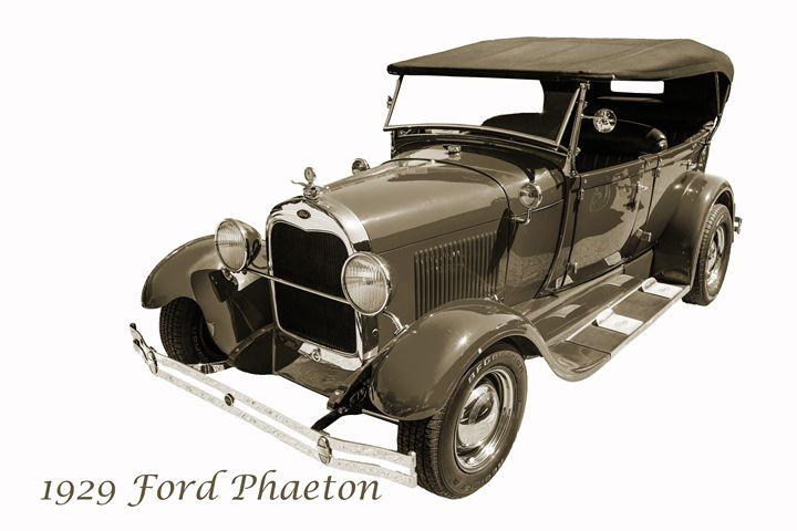 1929 Ford Phaeton Classic Car 3509 - M K Miller III