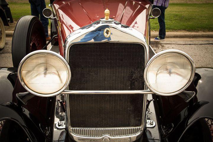 1929 Willys Knight Classic Car 4552 - M K Miller III