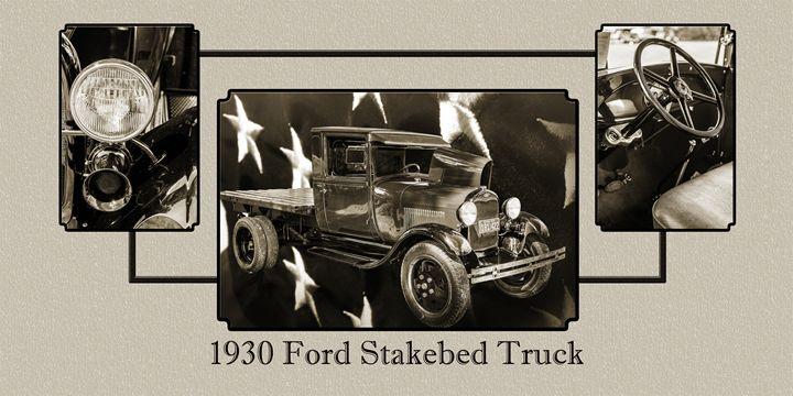 1930 Ford Stakebed Truck 5512.54 - M K Miller III