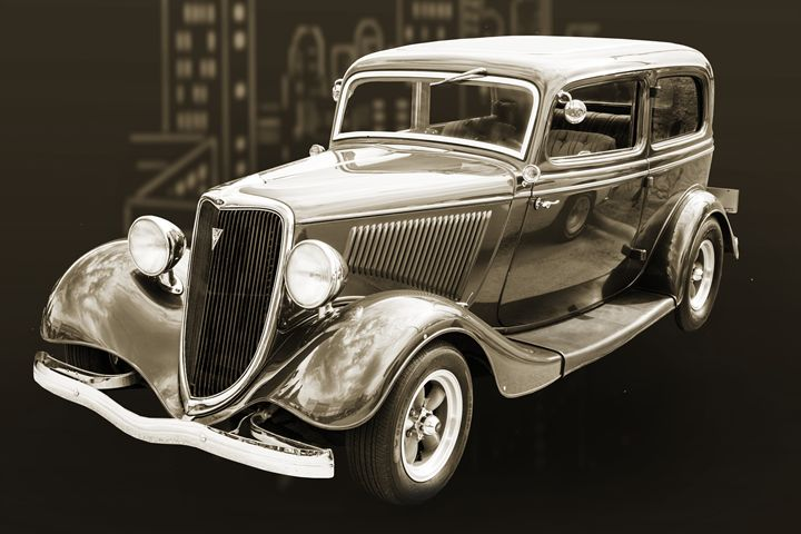 1934 Ford Classic Car 1443.007 - M K Miller III