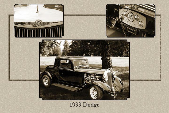 1933 Dodge Classic Car 5565.32 - M K Miller III