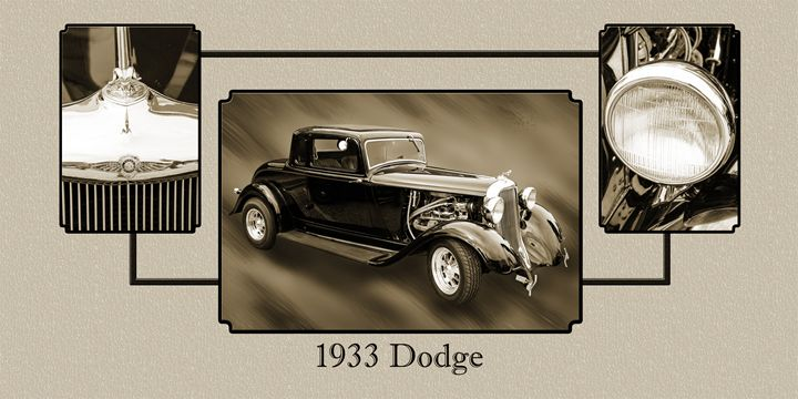 1933 Dodge Classic Car 5565.34 - M K Miller III