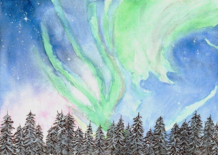 Northern Lights 1 - Ingrid Clark