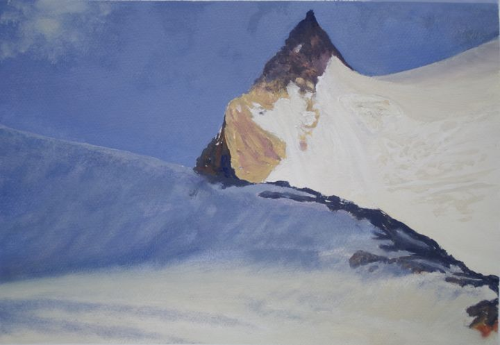 snow spring - jose perlado-watercolors