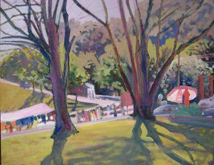 market morning - jose perlado-watercolors