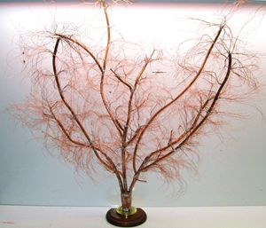 COPPER TREE Art