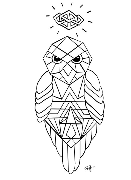 Colouring page - Emz
