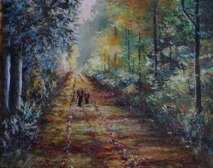 Promenade en foret