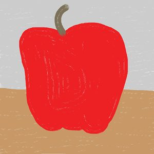 Apple or pepper?