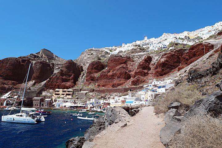 Amoudi, Santorini - amywanders