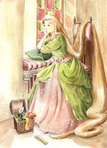 Rapunzel - InkPaint