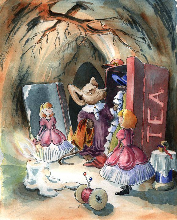 Thumbelina Is Getting Married - InkPaint