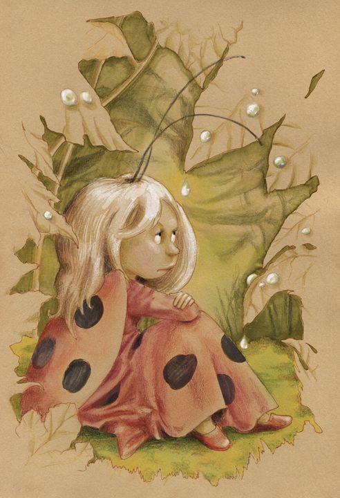 Ladybug Fairy - InkPaint