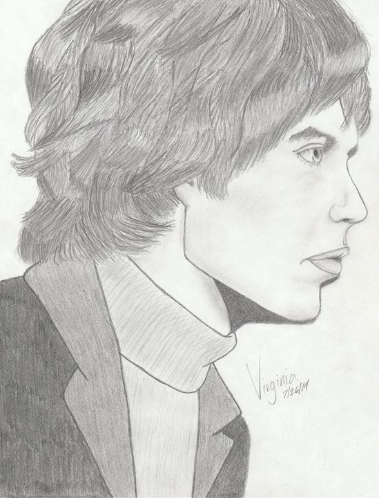 Mick Jagger - Virginia Lopez