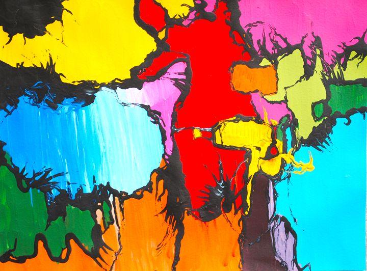 A New World Order - Paul Larson's Artwork