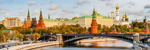 View Of Moscow Kremlin In Autumn - digimatic