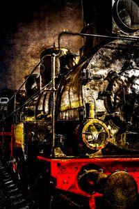 Vintage Train - The Veteran - digimatic