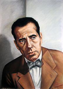 Humphrey Bogart - portrait