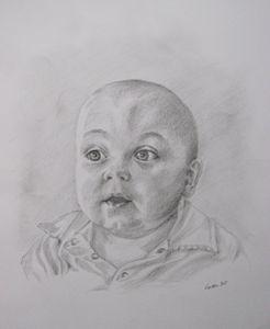 Portrait commission - drawing