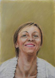 Portrait commission - pastel