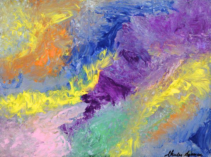 Burning Colour - Shirley Spencer