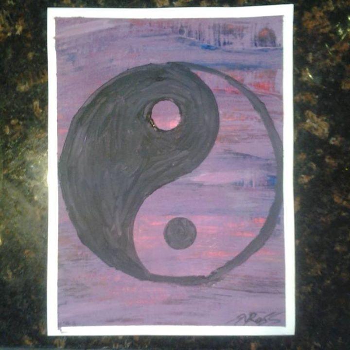 Yin-Yang Symbol - Desirea Artwork