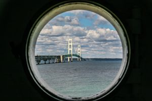 Looking through the porthole