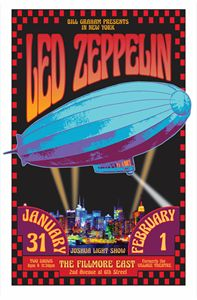 LED ZEPPELIN Fillmore East 1969