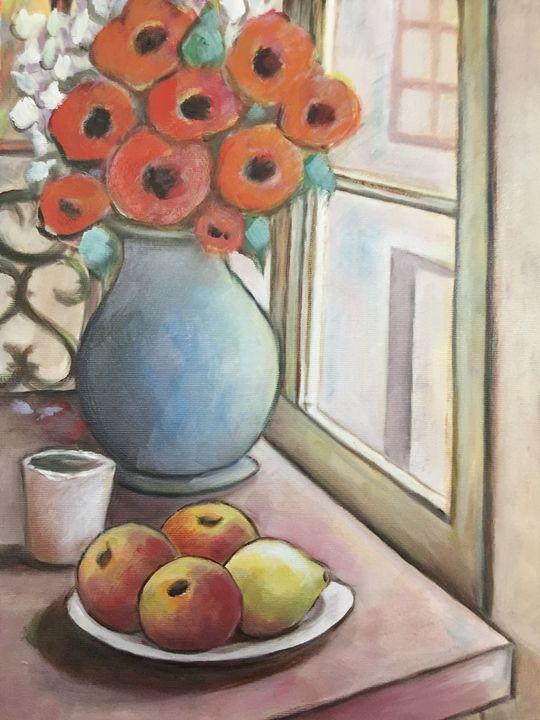 Poppies and apples - Leonardo Craciun