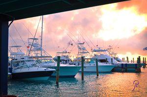 Big Game Yacht Sunrise