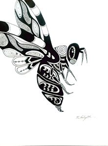 Bumble Bee, Original Drawing