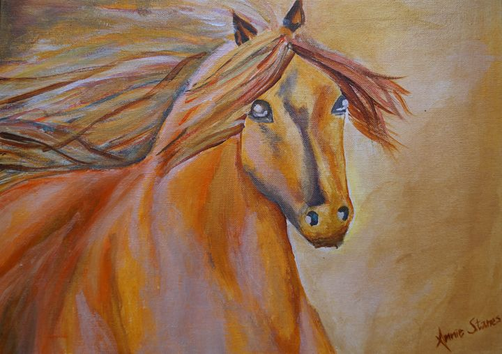 Majestic horse - Annie Stanes