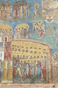 Voronet Church 1 -A vision of Heaven