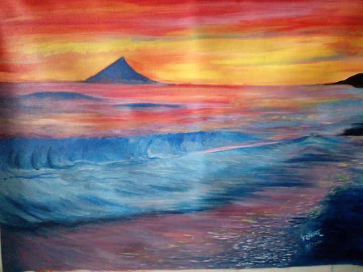 Reflections of the Vibrant Sky - Smita Srivastav