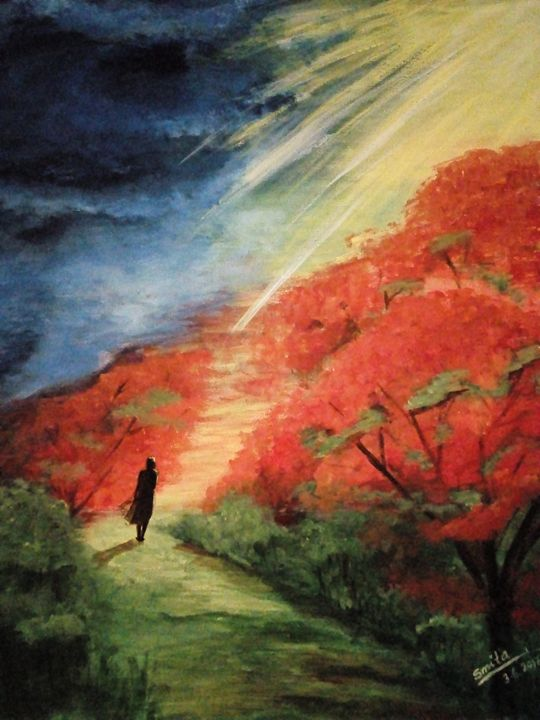 The road less known... - Smita Srivastav