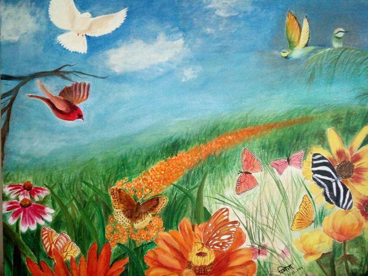 Colours and Wings - Smita Srivastav