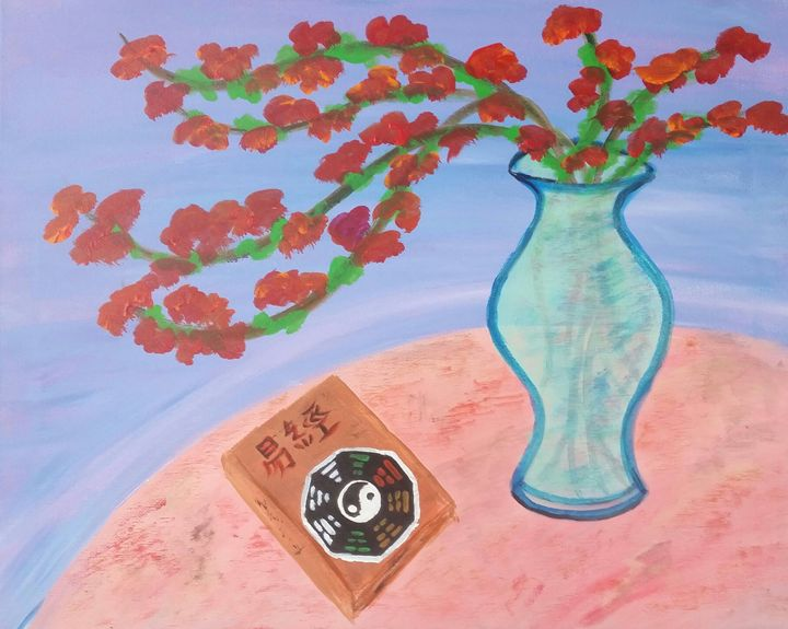 Everybody I Ching Tonight! - High Desert Reflection, by Julie Clayton