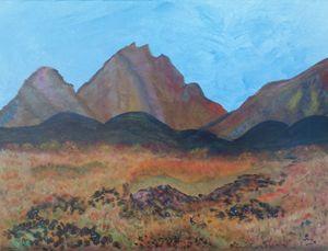 Fire Meadow at Mt. Kiriasan
