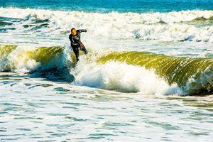 Surfing Cocoa Beach