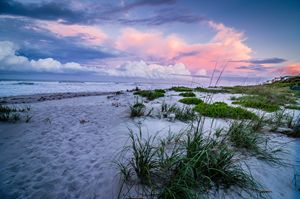 Cocoa Beach Stormy Sunset