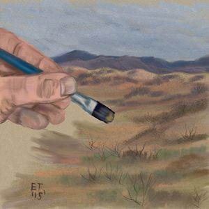 Painting the Desert