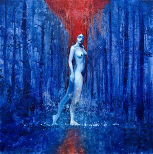 The nymph of the Blue Forest