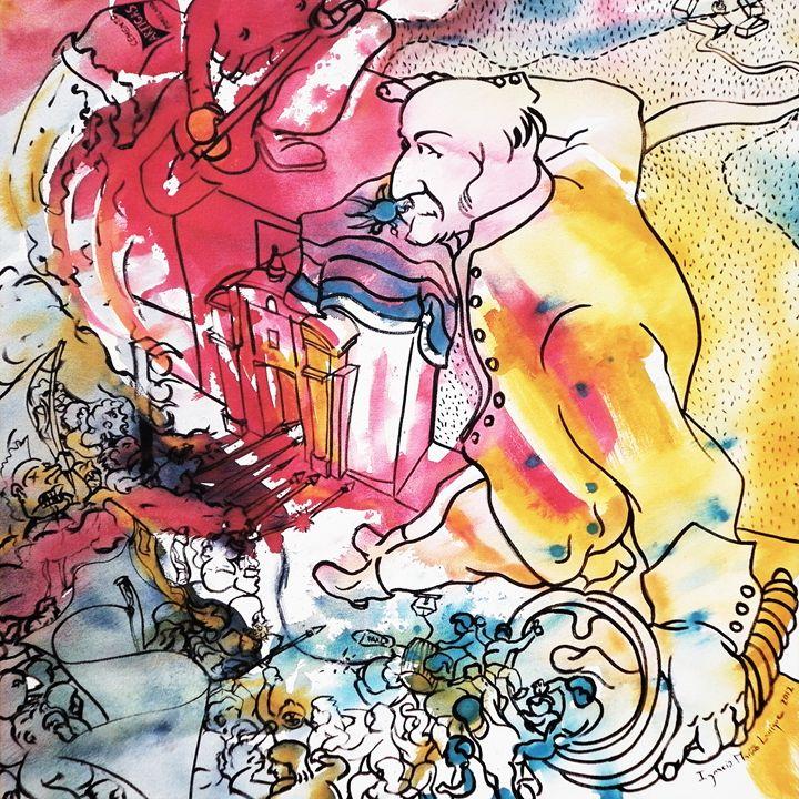 Interpretation #82 - Paintings by Ignacio Mariño Larrique