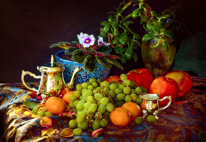 《Still life—Fruit》 - Earthwormism  studio