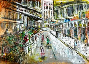 Hong Kong Market Scene (2) - Martin Cayless
