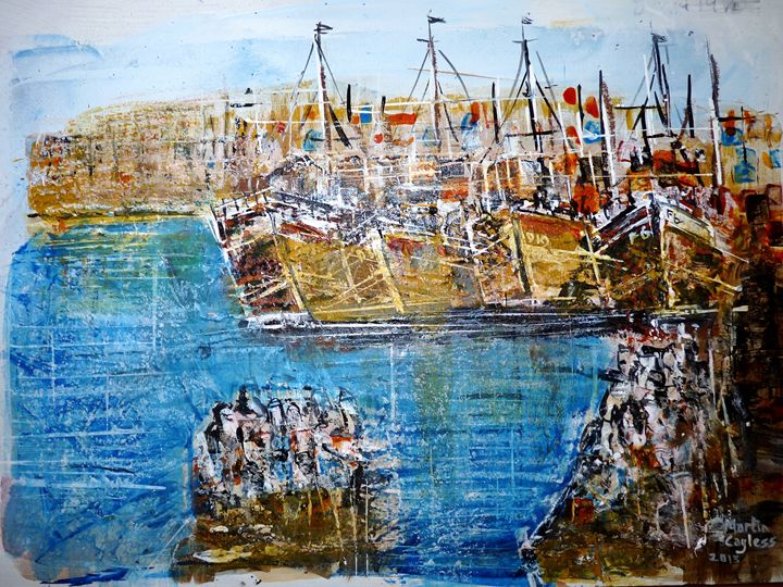 Doha Ferry 1970 - Martin Cayless