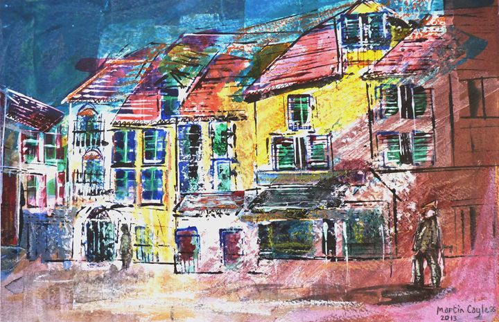 German City Scene (5) - Martin Cayless