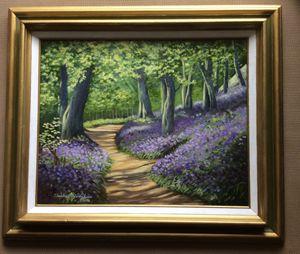 Bluebell Walk - Charlene Hodgkins