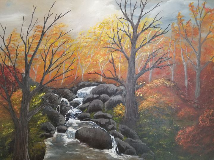 Autumn falls - Maranda's art