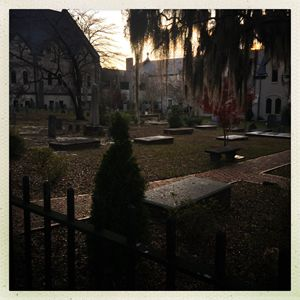 Sunset in the Graveyard